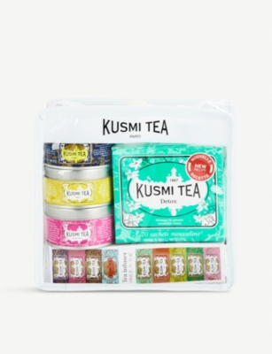 KUSMI TEA Voyage travel tea gift set