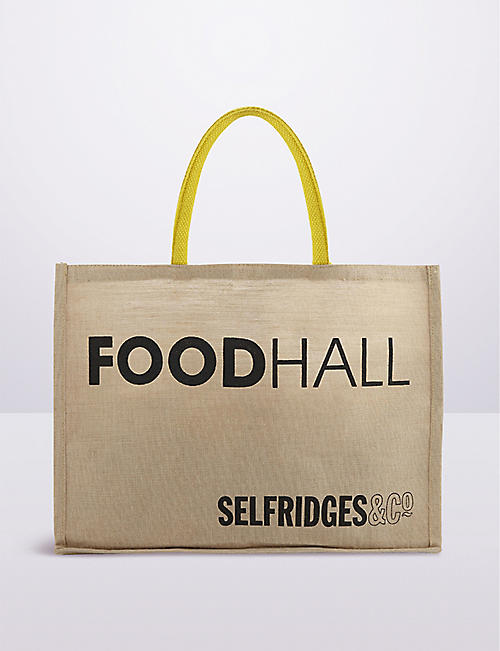 SELFRIDGES SELECTION Selfridges Foodhall reusable tote