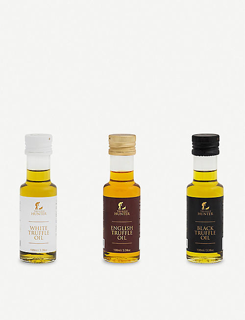 TRUFFLEHUNTER Truffle oil selection 3 x 100ml