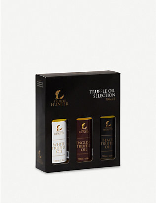 TRUFFLEHUNTER: Truffle oil selection 3 x 100ml