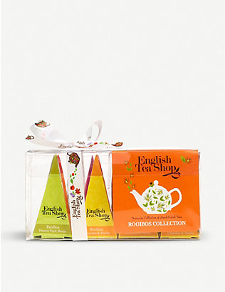 ENGLISH TEA SHOP: Rooibos collection tea bags box of 12
