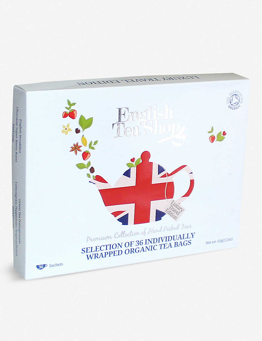 ENGLISH TEA SHOP: Organic tea selection box of 48