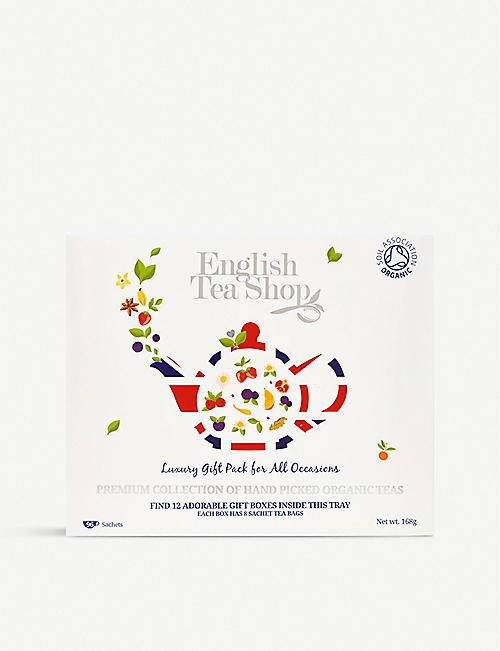 ENGLISH TEA SHOP: Organic tea selection box of 96