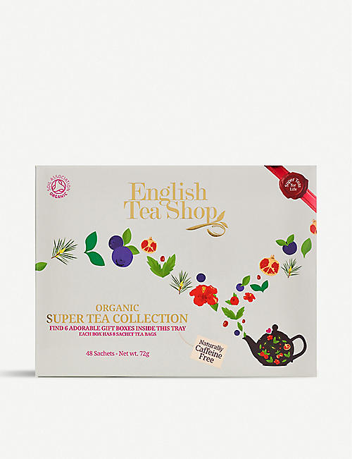 ENGLISH TEA SHOP Organic super tea collection 72g