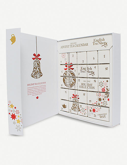 ENGLISH TEA SHOP Organic tea Advent calendar 575g