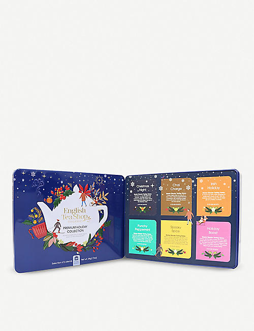 ENGLISH TEA SHOP: North Star Premium Holiday Collection tea bags box of 36