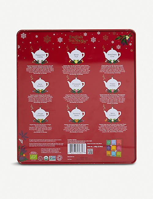 ENGLISH TEA SHOP Premium Holiday Collection tea bags box of 72