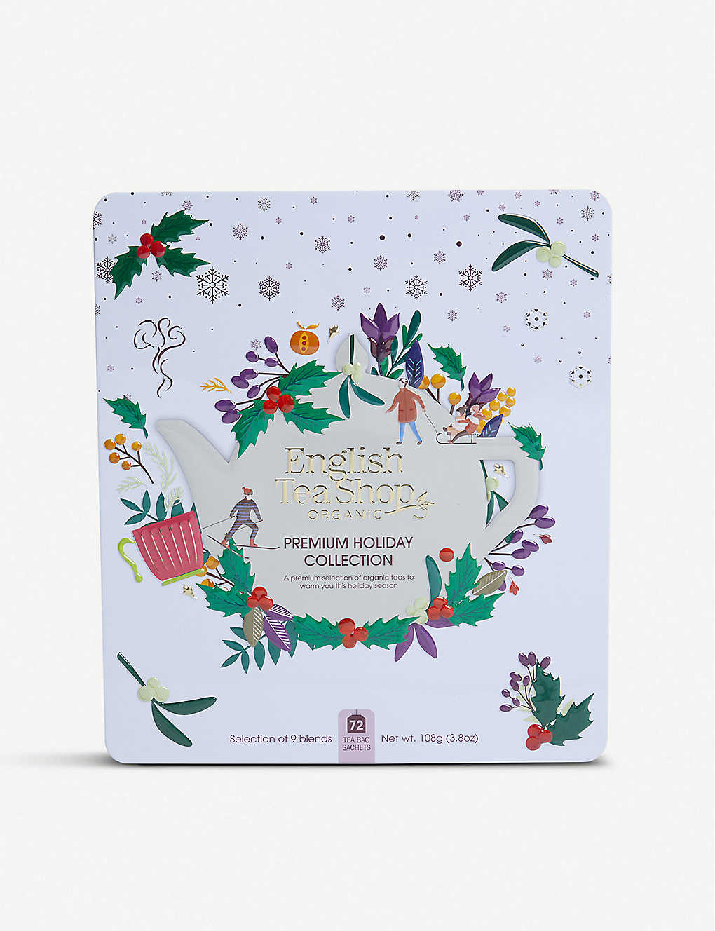ENGLISH TEA SHOP: Premium Holiday Collection tea bags box of 72