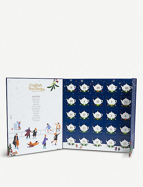 ENGLISH TEA SHOP Organic tea Advent calendar 360g