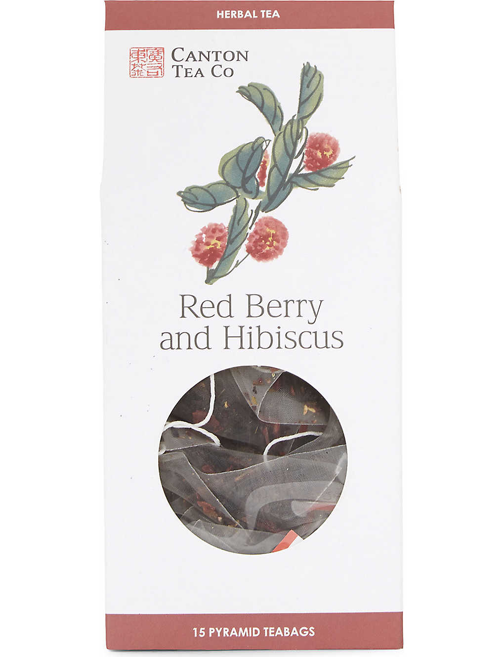 Tea Red Berry And Hibiscus Pyramid Tea Bags 30g Selfridgescom