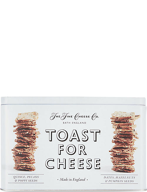 THE FINE CHEESE CO: Toast for cheese gift tin 200g
