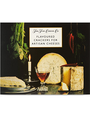 THE FINE CHEESE CO Crackers for artisan cheese selection box 375g
