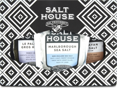 SALT HOUSE Classic salt collection 3 x 60g