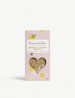 PRIMROSE'S KITCHEN Orange and cashew granola 300g