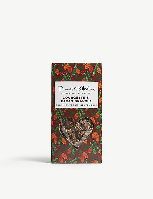 PRIMROSE'S KITCHEN Courgette and cacao granola 300g