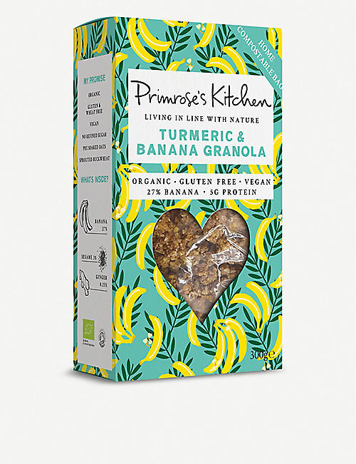PRIMROSE'S KITCHEN Banana and turmeric granola 300 g