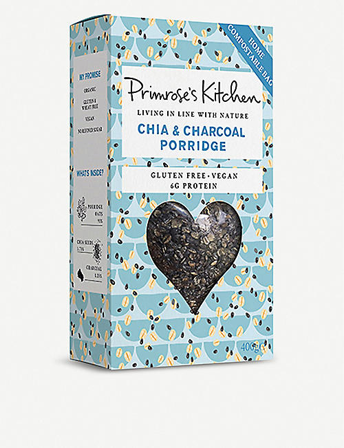 PRIMROSE'S KITCHEN Chia & charcoal porridge 400g