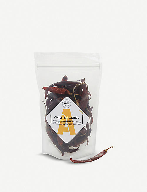 SOUS CHEF UK Chilli de Arbol 50g