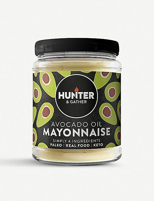 HUNTER GATHER: Classic avocado oil mayonnaise 175g