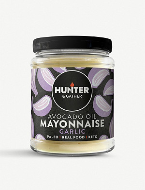 HUNTER GATHER Garlic Avocado Oil Mayonnaise 175g