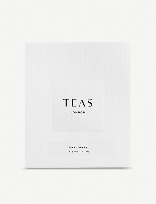TEAS Earl Grey tea bags pack of 15