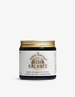WUNDER WORKSHOP: Golden Balance Adaptogen x Turmeric blend 40g