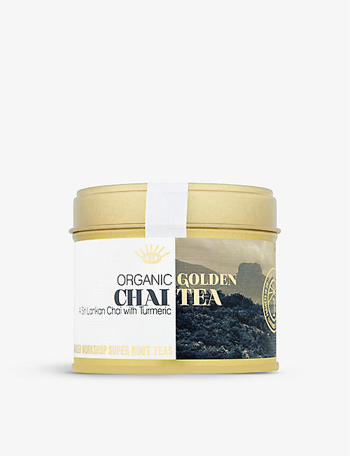 WUNDER WORKSHOP: Organic Golden Turmeric Chai 70g