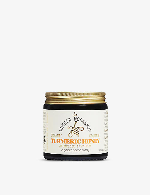 WUNDER WORKSHOP: Golden turmeric organic honey 190g
