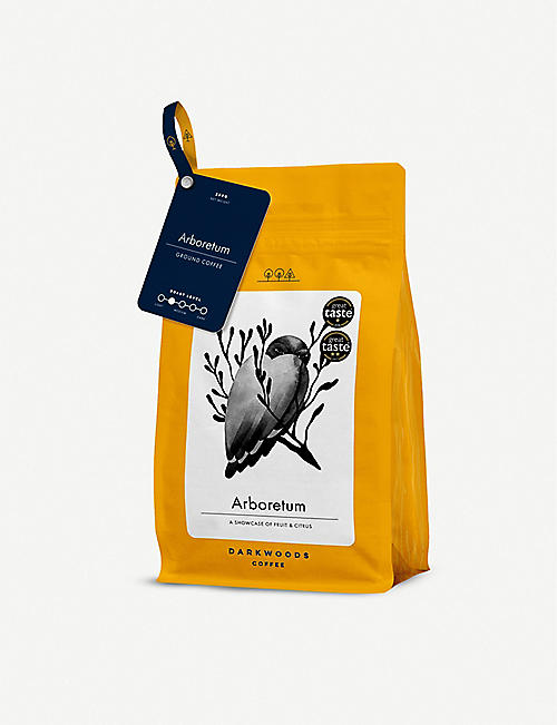 DARKWOODS COFFEE: Aboretum Espresso Columbia ground coffee 250g
