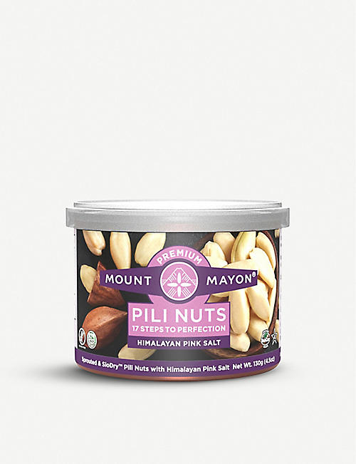 MOUNT MAYON Himalayan Pink Salted Pili Nuts 130g