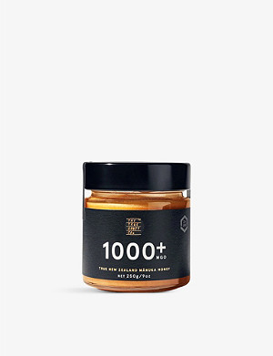 THE TRUE HONEY COMPANY Raw Manuka honey 1000+ 250g