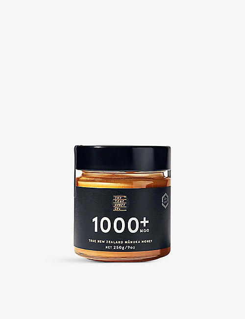 THE TRUE HONEY COMPANY: Raw Manuka honey 1000+ 250g