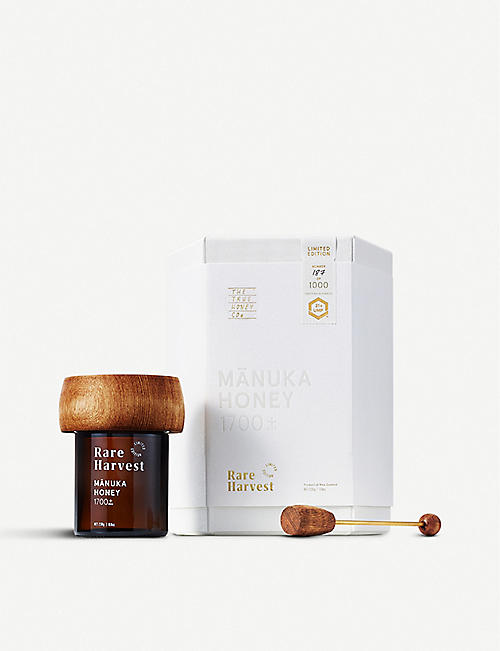 THE TRUE HONEY COMPANY: Rare Harvest New Zealand Manuka Honey MGO 1700+ 230g