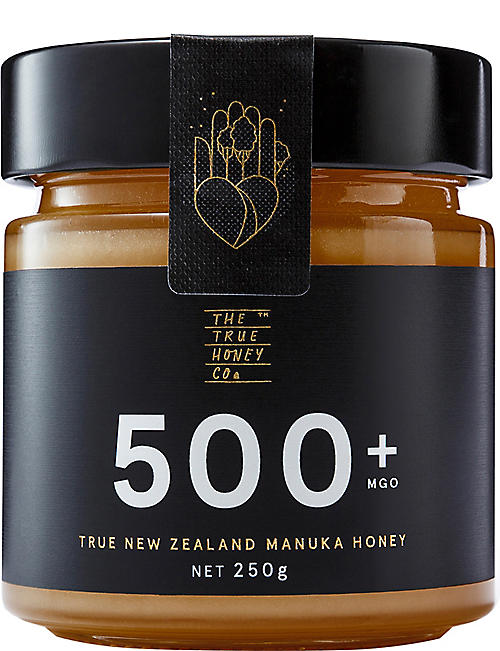 THE TRUE HONEY COMPANY: Raw Manuka honey 250g