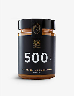 THE TRUE HONEY COMPANY: Raw Manuka honey 400g