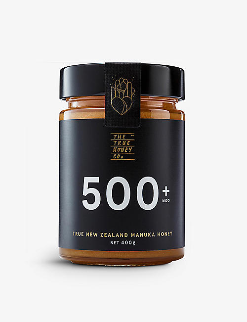 THE TRUE HONEY COMPANY 未加工的马努卡 蜂蜜色 400g