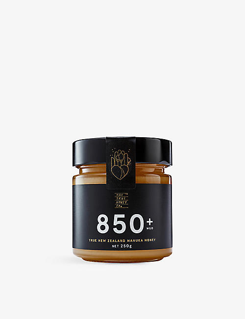 THE TRUE HONEY COMPANY Raw Manuka honey 250g