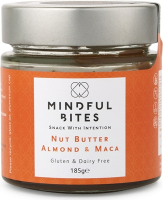 MINDFUL BITES Almond & Maca nut butter 185g