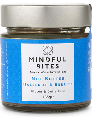 MINDFUL BITES Hazelnut & berries nut butter 185g
