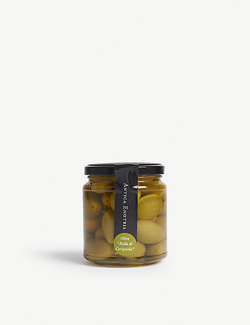 ANTICA ENOTRIA: Olives in brine 580g