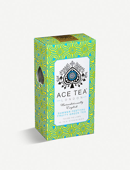 ACE TEA: Summer Festival fruity green tea bags box of 15
