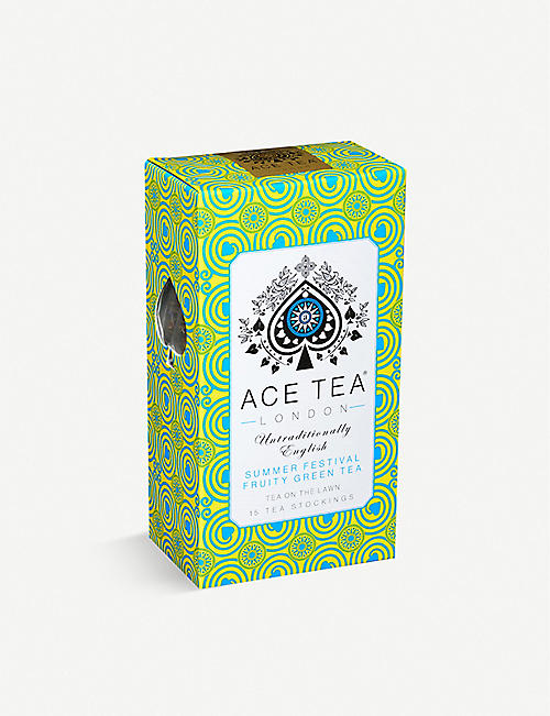 ACE TEA: Royal Mint green tea bags box of 15