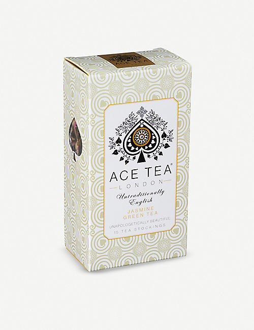 ACE TEA Jasmine green tea bags pack of 15