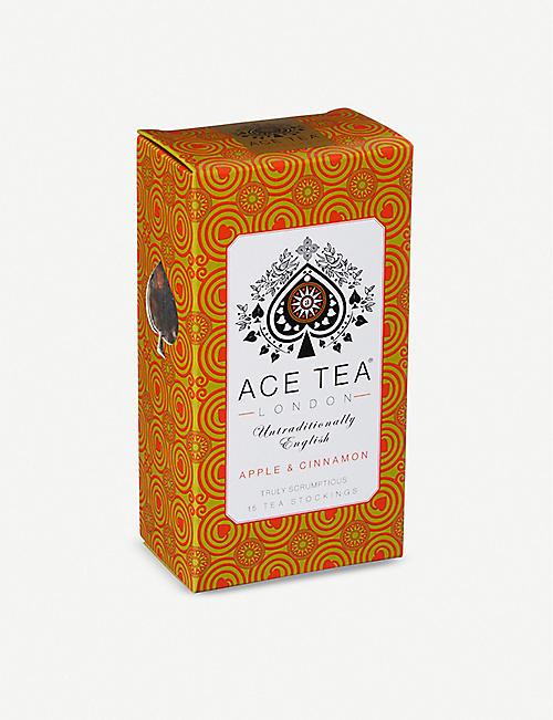ACE TEA: Apple and Cinnamon tea bags pack of 15