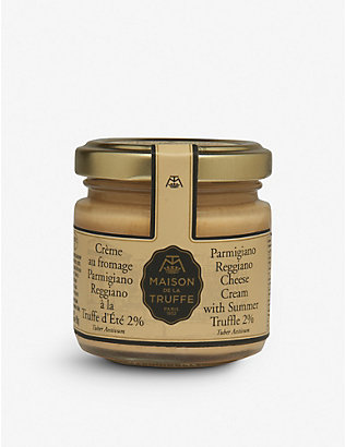 MAISON DE LA TRUFFE: Parmigiano Reggiano Cheese Cream with Summer Truffle 90g