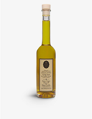 MAISON DE LA TRUFFE: Olive Oil with Black Truffle 200ml