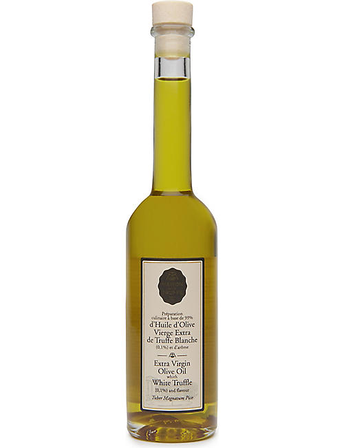 MAISON DE LA TRUFFE: Olive Oil with White Truffle 100ml