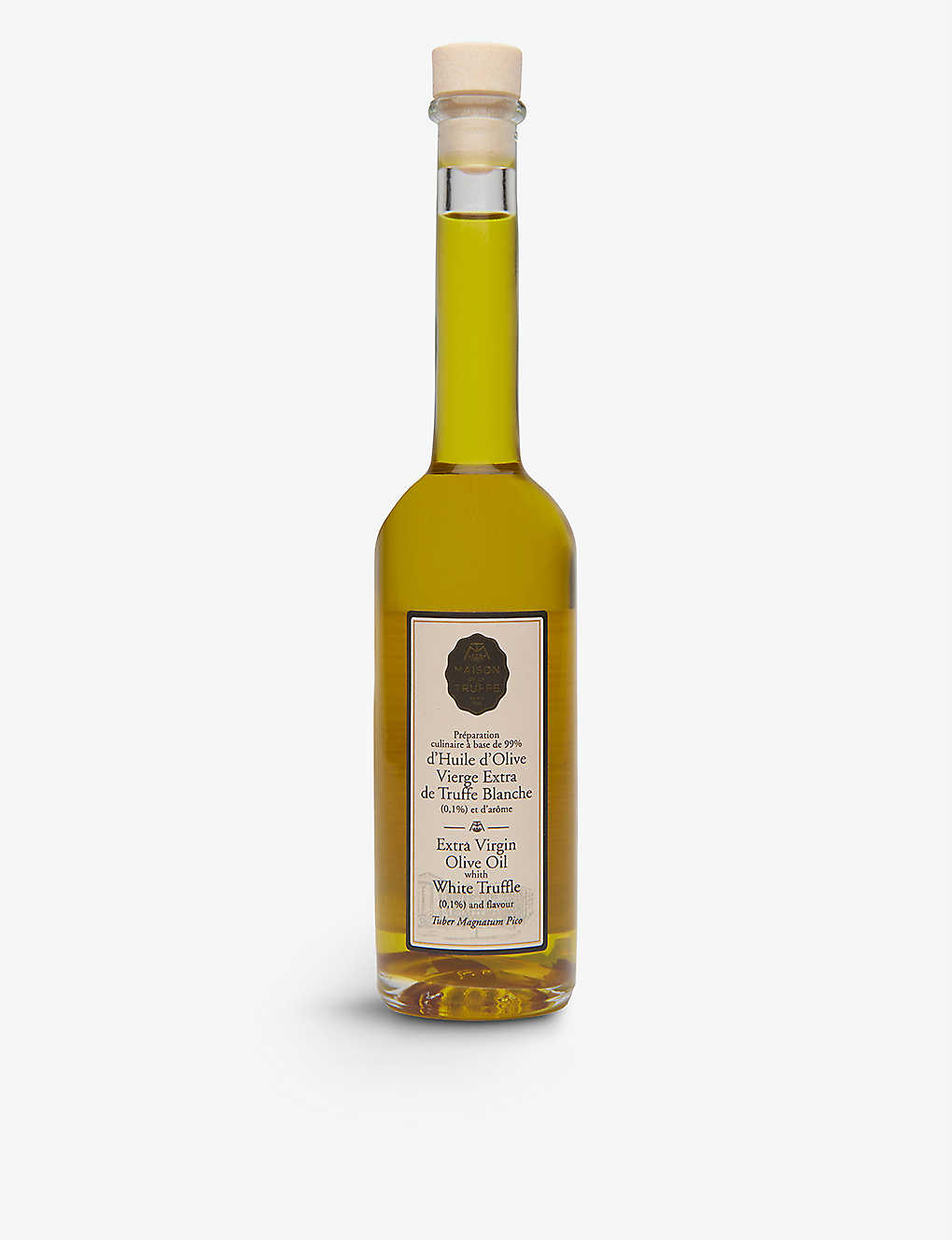 MAISON DE LA TRUFFE: Olive Oil with White Truffle 200ml