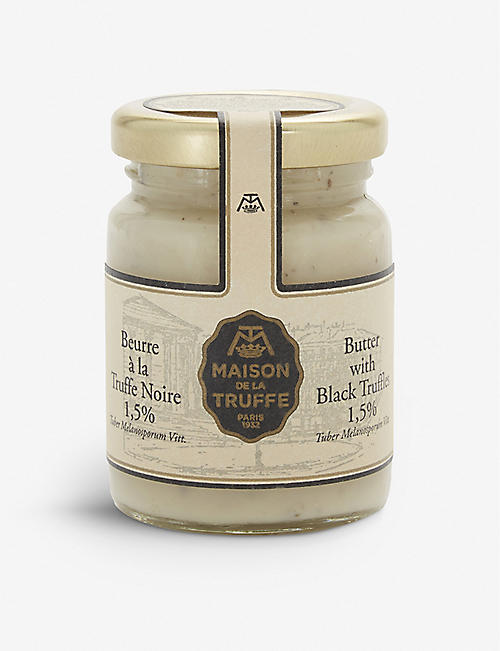 MAISON DE LA TRUFFE: Butter cream with black truffle