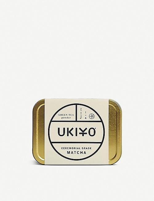 TEAS: Ukiyo ceremonial grade matcha tea powder 30g
